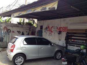 Jasa Service AC Mobil Haji Dogol Pondok Bambu Jakarta Timur