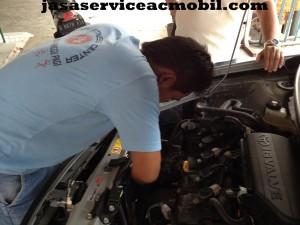 Jasa Service AC Mobil di Jalan Curug Jaya Jaticempaka Bekasi