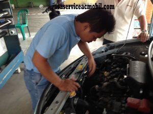 Jasa Service AC Mobil Jalan Kenanga Jatibening Bekasi