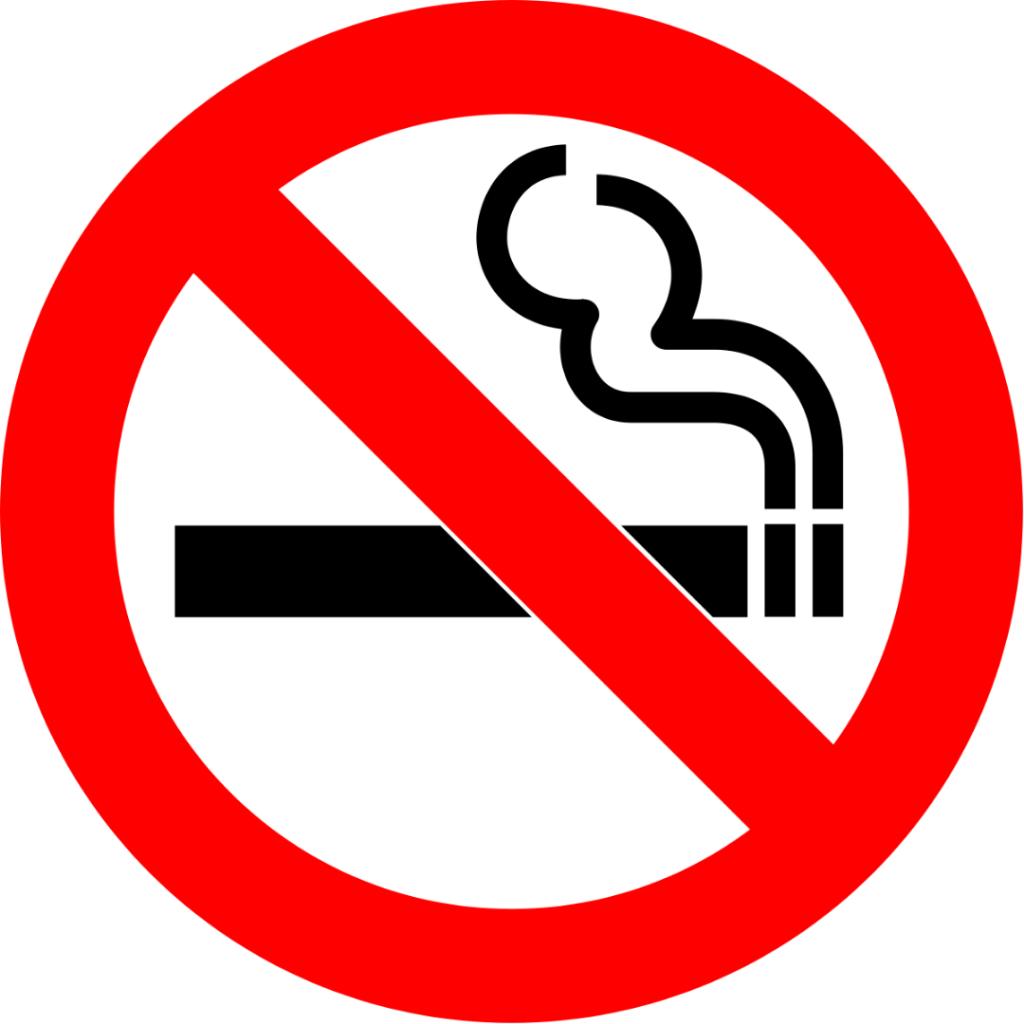 Service AC Mobil Jangan Merokok