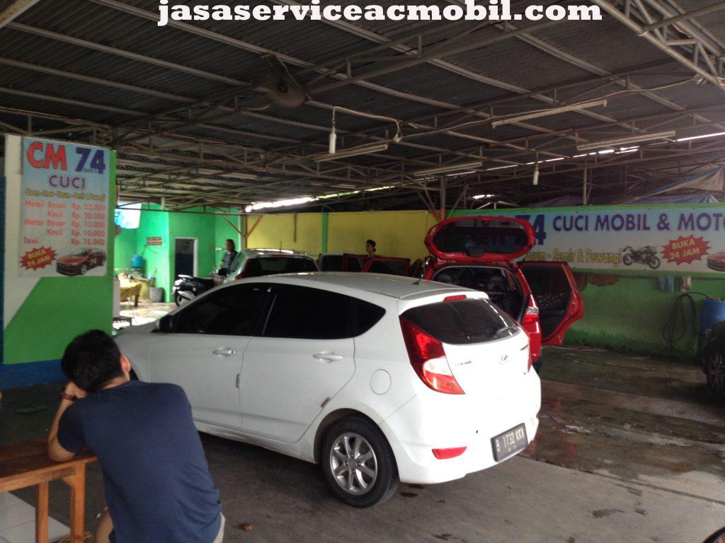 Jasa Service AC Mobil Jalan Jati Utama Raya Jatibening Bekasi