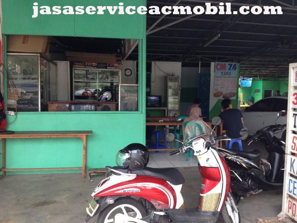 Jasa Service AC Mobil di Jalan Jamblang Jaticempaka Bekasi