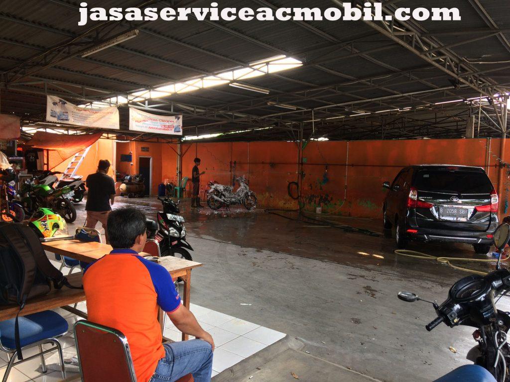 Jasa Service AC Mobil Taman Galaksi Bekasi