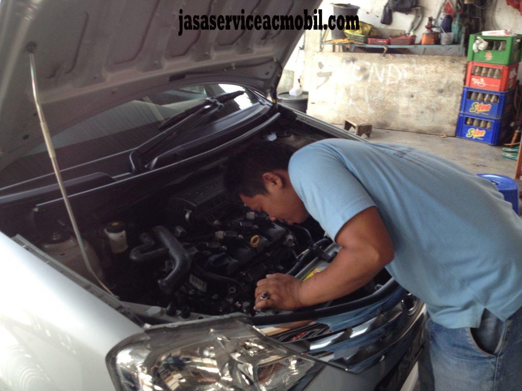 Jasa Service AC Mobil di Jalan Kenanga Jatibening Bekasi