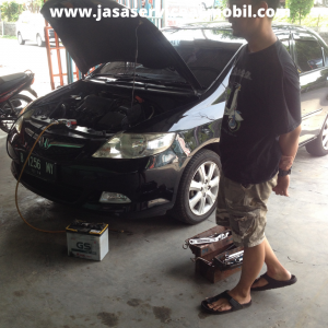 Bengkel AC Mobil Jalan Enau Jatibening Bekasi