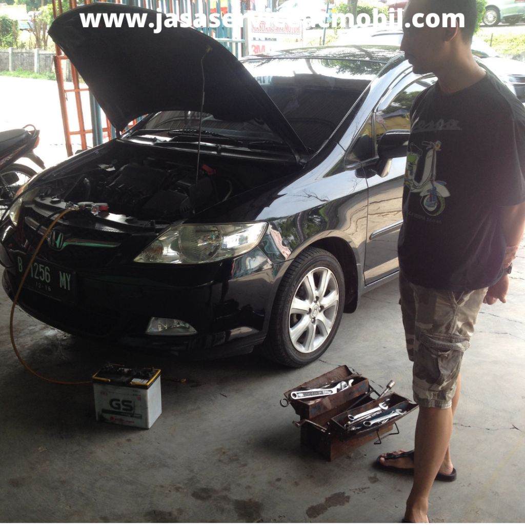 Bengkel AC Mobil di Jalan Enau Jatibening Bekasi